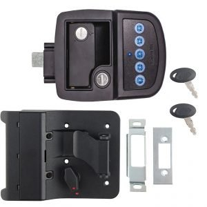 #013-5091 - Bauer Key'd-A-Like Bluetooth Electric Towable Lock RH