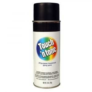 #003-55275 - Touch 'n Tone Flat Black Spray Paint
