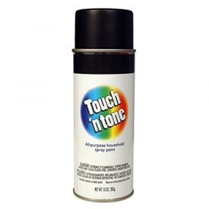 #003-55276 - Touch 'n Tone Gloss Black Spray Paint