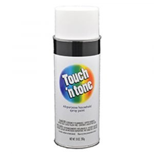 #003-55280 - Touch 'n Tone Flat White Spray Paint