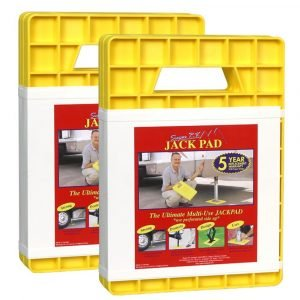 """#007-47257 - Super Dolly RV Jack Pads, 4 Pack, 10"""" x 14"""" x 3/4"""""""