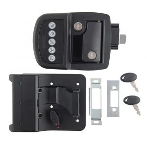 #013-530 - Bauer Key'd-A-Like Electric Towable Lock LH