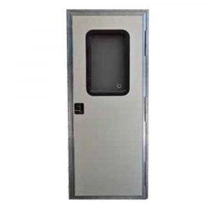 "#015-217719 - Square Entrance Door RH, 28"" x 72"", White"