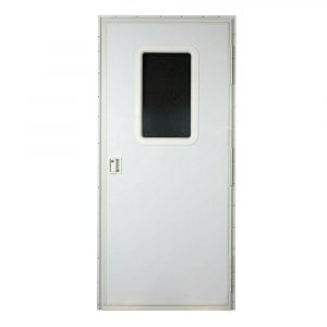 "#015-217720 - Square Entrance Door RH, 30"" x 72"", White"