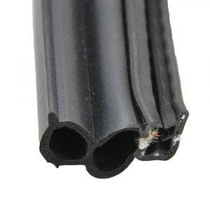 "#018-181-BB - Double Bulb w/slide on clip, 1-1/2"" x 3/4"" x 28'"