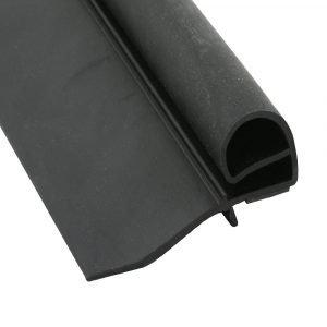 """#018-3203 - Bulb Seal, w/2-1/8"""" wiper, 3-9/64"""" x 2-1/2"""" x 30'"""