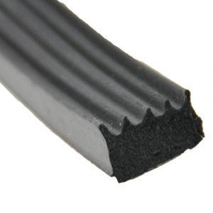 "#018-523 - Ribbed Foam Seal, 5/8"" x 3/8"" x 50'"