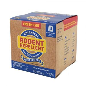 #020-126 - Fresh Cab Botanical Rodent Repellent, 4 Pouches