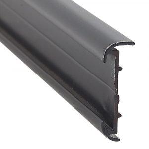 "#021-51602-8 - Short Leg Insert, 1-3/16"" x 2/5"" X 8', Black"