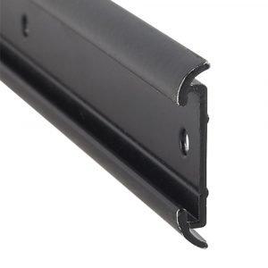 """#021-54602-16 - Flat Trim Insert, 1-1/4"""" x 1/5"""" x 8', Black"""