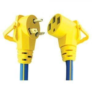 "#16-00504 - 3 Prong 30-50 AMP 18"" Adapter w/EZEEGRIP Handle"