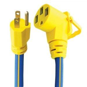 "#16-00521 - 3 Prong 15-50 AMP 12"" Adapter w/EZEEGRIP Handle"