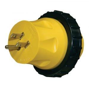 #16-00594 - 15-30 AMP Heavy Duty Molded Locking Adapter