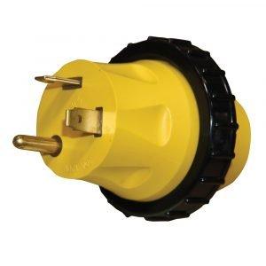 #16-00595 - 30 AMP Heavy Duty Molded Locking Adapter