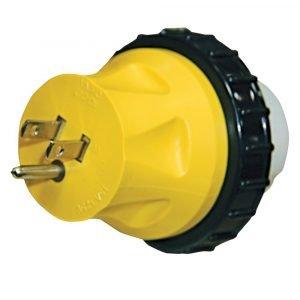 #16-00596 - 15-50 AMP Heavy Duty Molded Locking Adapter