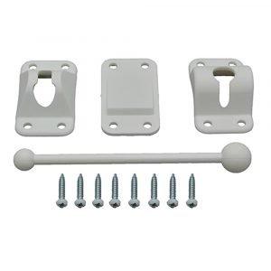 "#013-238 - Plastic Door Holdback, 6"", White"