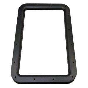 #015-2014762 - Inner & Outer Window Frame, w/Seal, Black