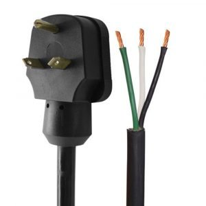 """#16-00564 - 30 AMP 18"""" Right Angle Male Pigtail"""