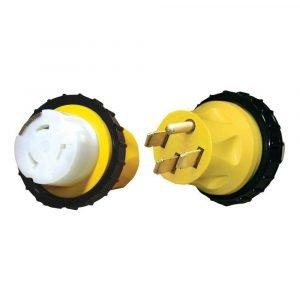 #16-00598 - 50 AMP HD Molded Locking Adapter