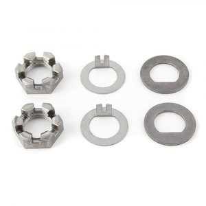 """#014-119335 - D-Flat & Tang Washers, 6 Slot Nut 1"""", 2 Pack"""