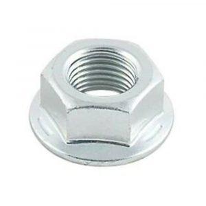 """#014-122079 - 1/2""""- 20 Zinc Coated Flange Nut"""