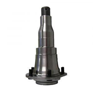 "#014-122455 - 4000-7000 lb. Sprung Axle Spindle Str. Flg., 3"""
