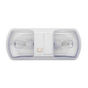 #016-BL3001 - Brilliant Interior Dual Dome Light