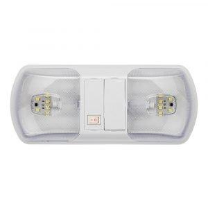 #016-BL3003 - Brilliant Interior Dual Dome Light