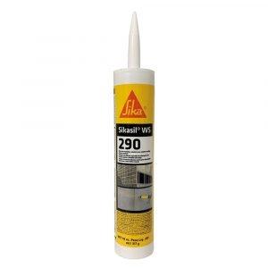 #017-412302 - SIKASIL WS-290 Silicone Sealant, 395 ML, Limestone