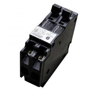 #ITEQ1515 - 1 Pole 15A/15A Duplex Circuit Breaker