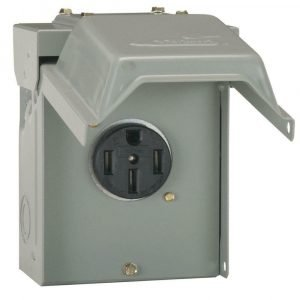 #U054P - 50AMP RV Power Outlet