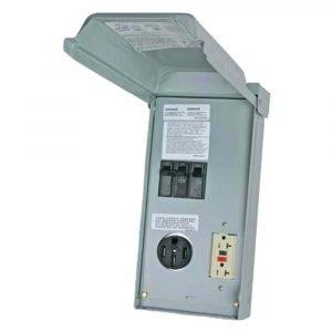 #U055C010P - 70AMP RV Power Outlet w/20A GFCI 2 Pole