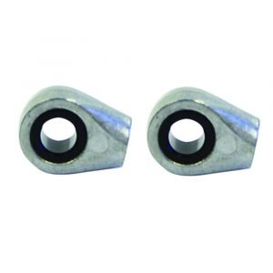 """#010-523 - Clevis End Fitting Fits 10""""-20"""" Gas Prop, 2 Pack"""