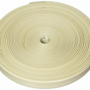 #011-368 - Flexible Plastic Insert Trim, 25', Colonial White