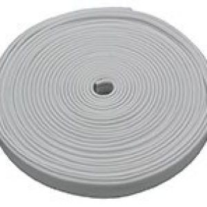 #011-387 - Flexible Plastic Insert Trim, 1000', Polar White