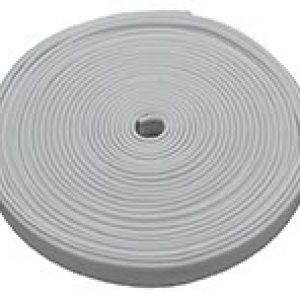 #011-370 - Flexible Plastic Insert Trim, 25', Polar White