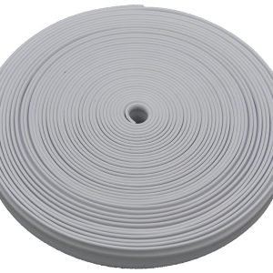 #011-376 - Quality Plastic Insert Trim, 50', Polar White