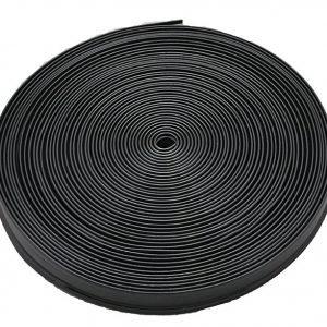 #011-378 - Quality Plastic Insert Trim, 50', Black