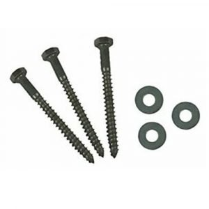 #012-LW25 - 3/8 x 4 Hex Lag Screw w/Washers, 25 Pack
