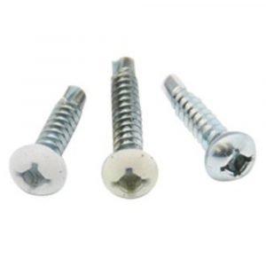 012-PTK1000 8 X 1 Pan Head Tri-Screw SD Zinc 8 X 1, 1000 Pack