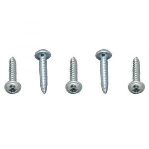 012-PTW1000 8 X 1 Pan Washer Head Tri Screw Zinc 8 X 1, 1000 Pack