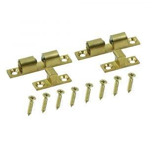 #013-011 - Brass Bead Catch, 2 Sets