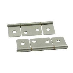 #013-046-SN - Non-Mortise Hinge-Satin Nickel, 2 Pack