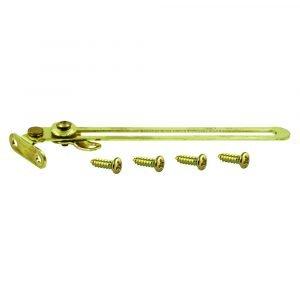 """#013-061 - Door Support Brass 6-1/4"""""""