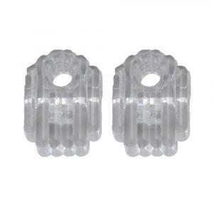 #013-149 - Clear Plastic Clip, 2 Piece