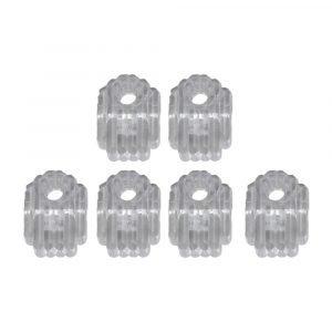 #013-149-6 - Clear Plastic Clip, 6 Pieces