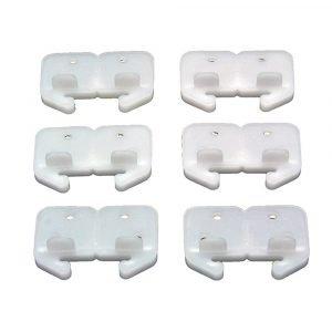 #013-209 - Grace #100 Plastic Back Plates (6/pc)