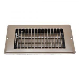 """#013-626 - Floor Register, Brown, 4"""" x 8"""""""