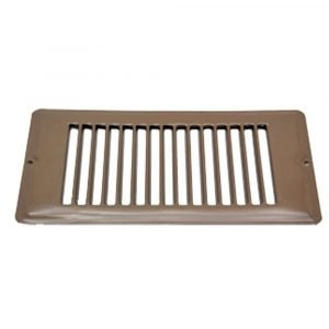 """#013-632 - Face Plate, Brown, 4"""" x 8"""""""