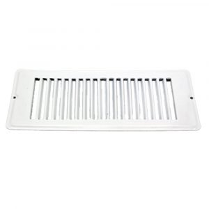 """#013-633 - Face Plate, White, 4"""" x 10"""""""